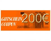 Gift Certificate 200 Euro